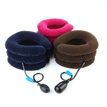 China Manufacturer Medical Equipment 3 Layers Air Neck Traction Relive Pain Cervical Neck Traction Device