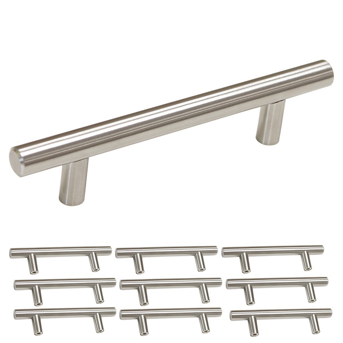 Get Quotations · 3.5 Inch Cabinet Pulls Stainless Steel   Homdiy HD201SN  Bathroom Cupboard Drawer Pulls Office Desk Drawer