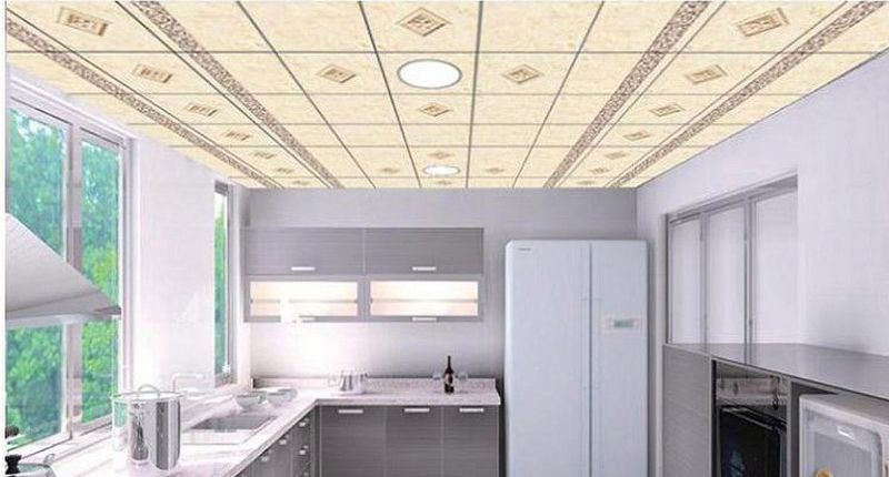 vinyl coated gypsum ceiling tiles