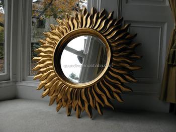 Starburst Wall Mirror Gold Sunburst Round Product On Alibaba
