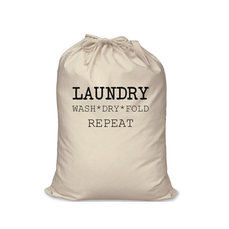 Phổ Biến Nhất Thân Thiện Với Môi Tái Chế Bông Vải Logo In Ấn Tuỳ Chỉnh Giặt Túi