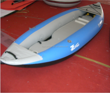Water Sports inflatable PVC boat fishing kayak inflatable kayak for sale