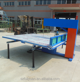 foam cutting machine-2200 blade belt cutting, epe foam sheet vertical cutting machine