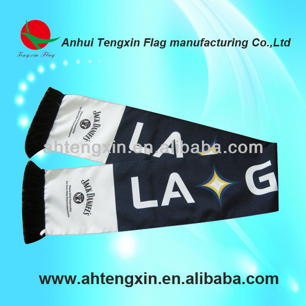 hot style cheap double side satin fan scarf factory direct sale