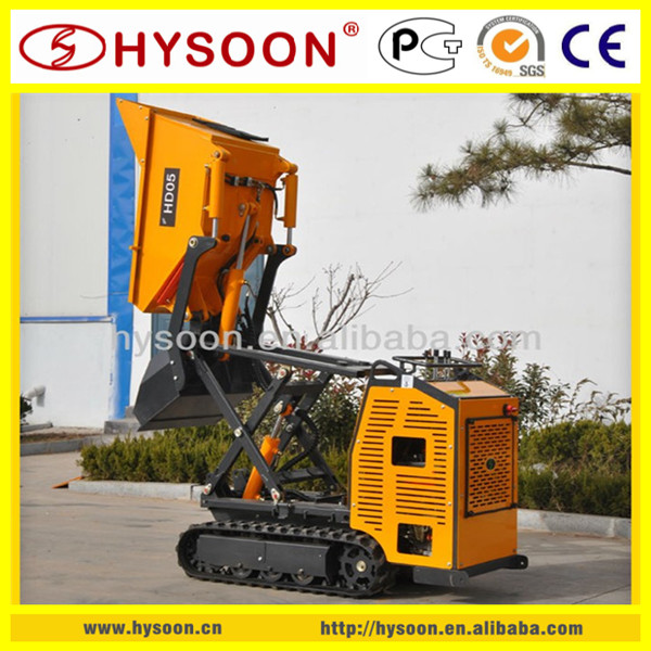 HYSOON HD05 mini track dumper