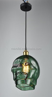 Designer Art Creative Personality Glass Pendant Light Modern Hanging Lamp for Bar/Coffee Shop Decoration