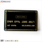 Custom credit card printing NBS Code Embossed Name for Medicare cards.
