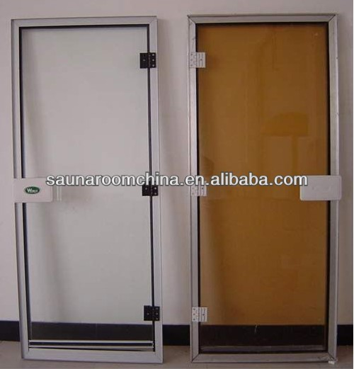 Relatively Offer Oem&odm Tempered Glass Sauna Door Dry Steam And Wet Steam  SQ91