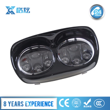 "5.75"" LED H4 dual headlight For Harley Davidson Road Glide Ultra FLTRU CVO Custom Anniversary FLTRXSE2 motorcycle headlights"