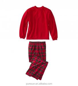 Kids Plain Christmas Pajamas f4d58d49e