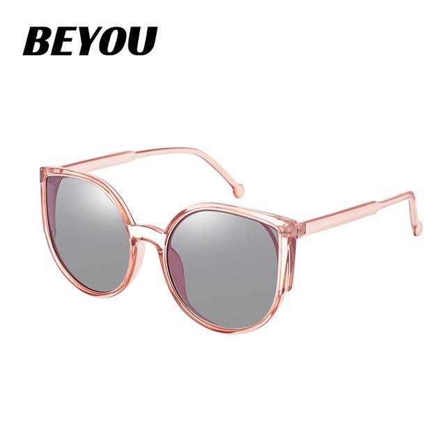 1453d381cc De moda logotipo personalizado gran rosa color de ojo de gato de marcos de  gafas de