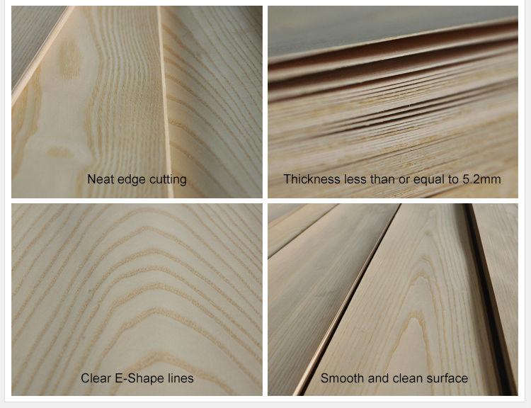Natural Wood Veneer White Ash For Door Furniture Plywood - Buy ...