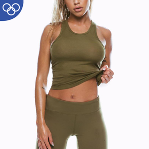 NO.1 Quality & Lead time OEM service 2018 Custom fitness wear women high quality women yoga tank tops