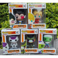 Dragon Ball Z Funko POP Super Saiyan Son goku Vegeta Cell Piccolo Frieza WCF PVC Action