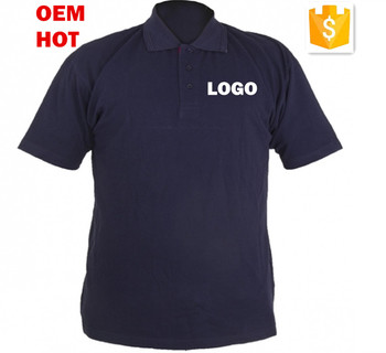 High quality polo shirt navy blue corporate company for Corporate polo shirts with logo