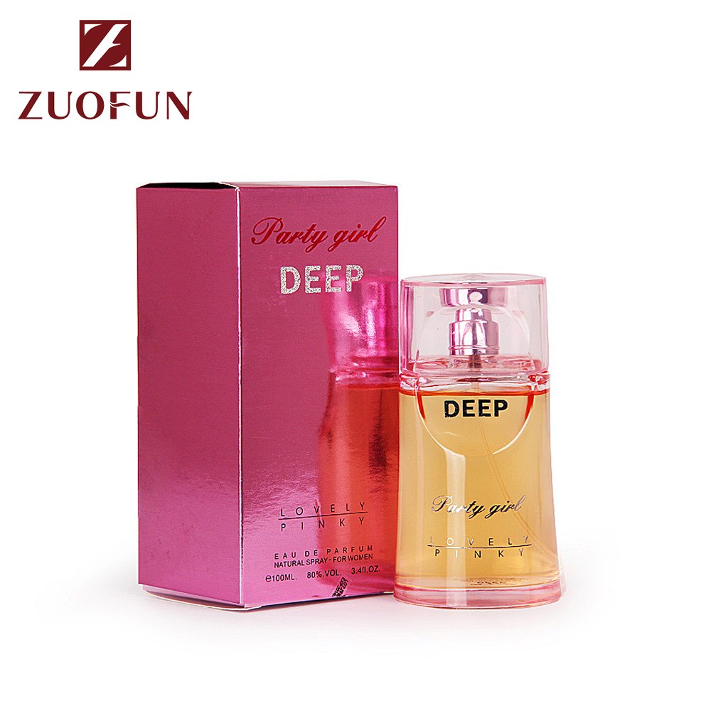 Guangzhou ZuoFun 2019 Fashion Perfume Oem Floral Notes Smart Collection Elegance Eau De Parfum 100ML