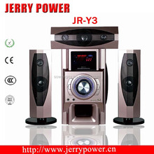 "3.1Ch Speaker Tower with 6.5""Subwoofer Speaker with USB SD FM LED Display and 2MIC Slot"