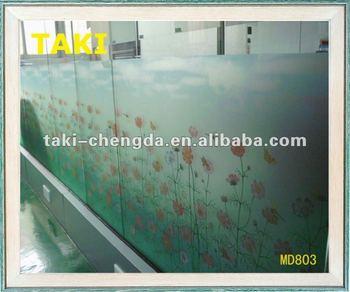 shower door decorative film - buy decorative glass film,self