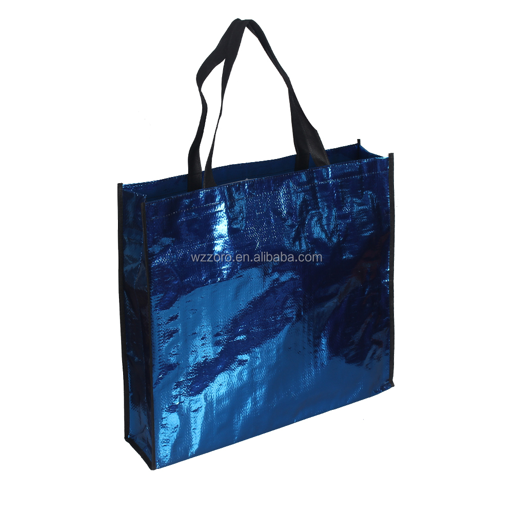 factory for sale shopping bag pp woven tote bag