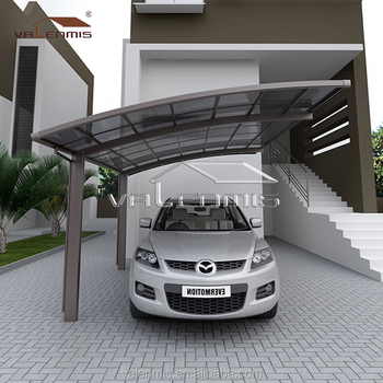 2017 free standing aluminium carport made in china