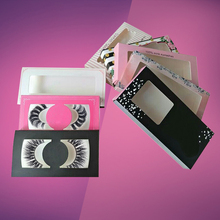 Private Label Empty False Eyelash Box,Custom Eyelash Packaging Box