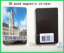 Souvenir Tourist 3D Wooden novelty fridge magnets (DW-1250)