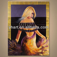 Wholesale famous nude lady on canvas