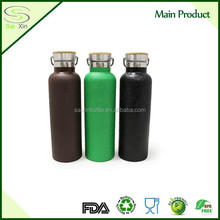 BPA Free 2017 wholesale Double walled thermos flask, Stainless steel water bottle powder coating
