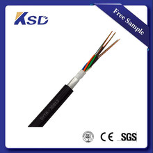 Aluminum tape armord gyta 24 core fiber optic cable outdoor sm 9/125