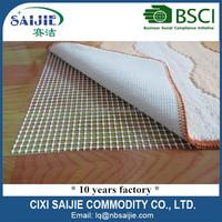 Eco friendly 6P free non-slip rug pad