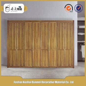 Wholesale 2016 Customized High Quality Teak Wood Wardrobe Door
