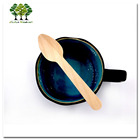 Disposable Wooden coffee spoon 110 mm