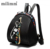 EBP006 fashion handbag 2019 travel leisure rivet backpack for girls