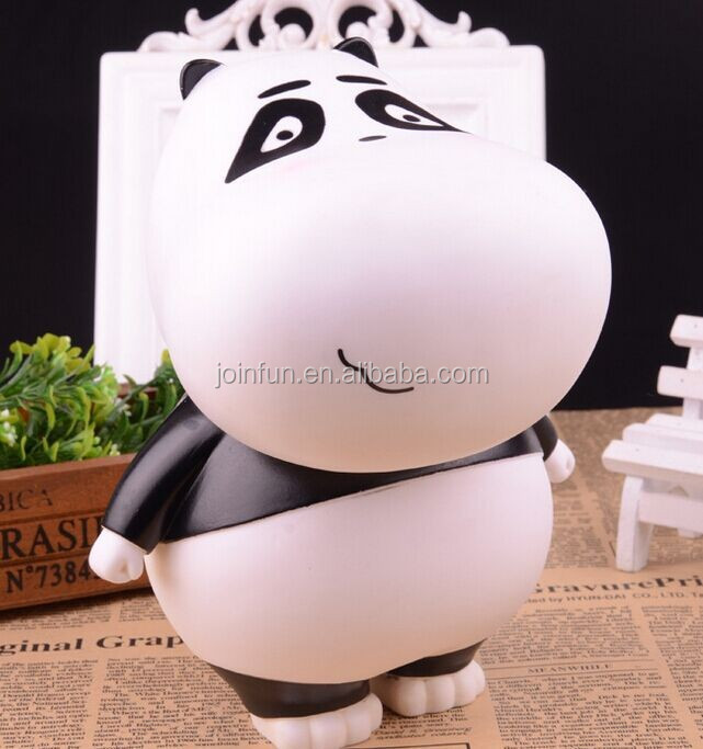 OEM Plastic Kids Cartoon piggy bank, Custom money box vinyl bank, Personalized plastic money box