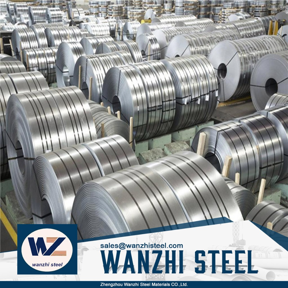 Factory structural high carbon hot galvanized steel strips, ck75 high carbon steel strip