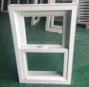 double upvc windows sliding vinyl window up and down, single hung window