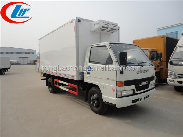 Cheng Li 4*2 used electric box trucks, 4 ton dry box truck body