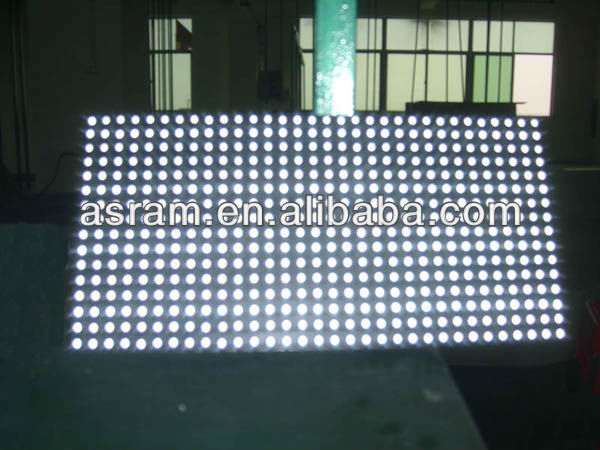 hot sale P10 outdoor White color led module