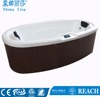 Couple Sexy Japanese Outdoor Adult SPA bathtub M-3360