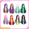 Wholesale Women Long Colorful Beautiful High Quality Cosplay Wig