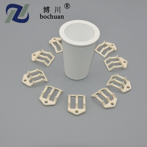 Wholesale custom Boron nitride 99% Ceramic Cylindrical Crucibles