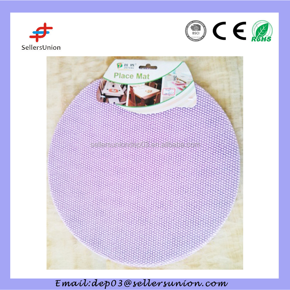 H825-38 2pcs EVA Foam Press Forming Placemat 38CM
