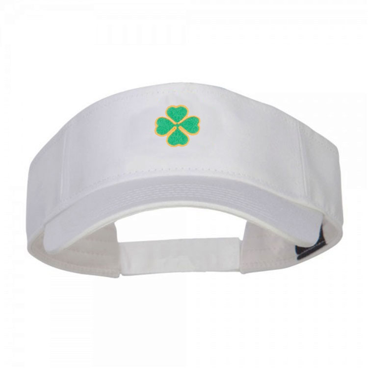 White cotton visor with embroidery sun visors buy white visor white cotton visor with embroidery sun visors ccuart Images