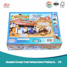 Cartton Toy Doll Packaging Box/Kid Child Packaging products/Gift Paper Box Suitcase