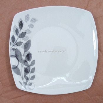 Ceramic Square Plate Porcelain Dishes Wholesale Dinner Plates For Weddings  Bulk - Buy Square Shape Dinner Plates,Customized Dinner Plates For