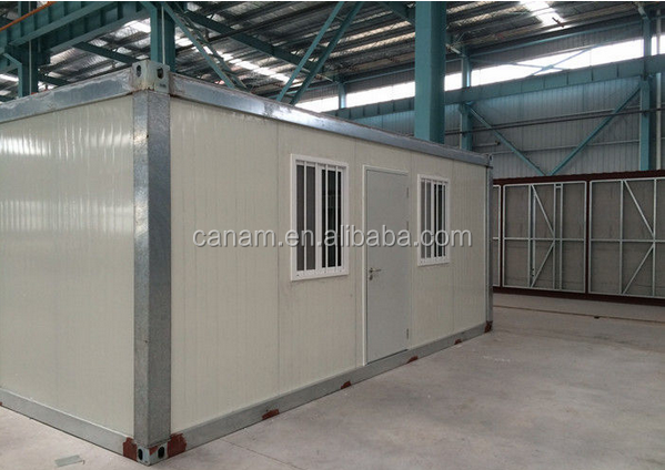 Waterproof 20ft Modified Shipping Containers House / Prefab Container Homes