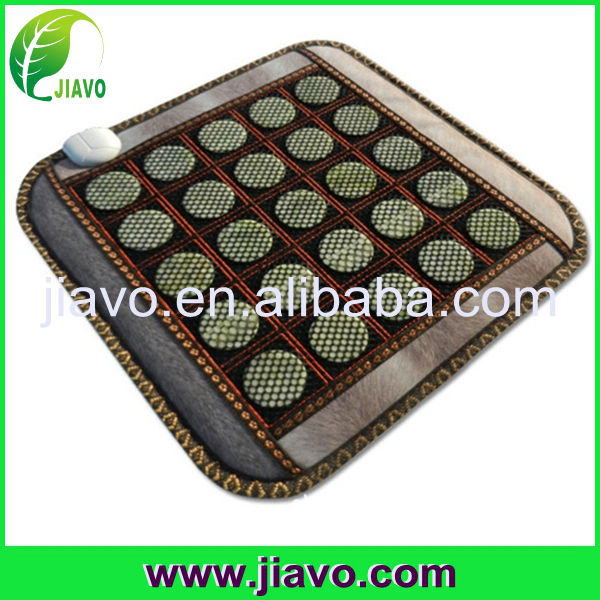 2017 top selling warm jade massage cushion with comfortable feeling