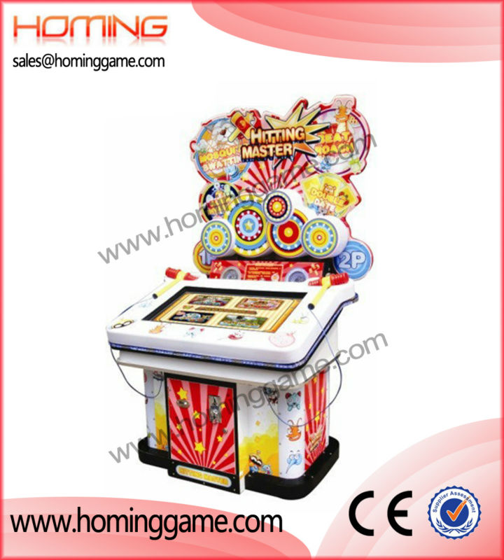 Hitting Master arcade video game machine/Newest and hot sale video game making machine