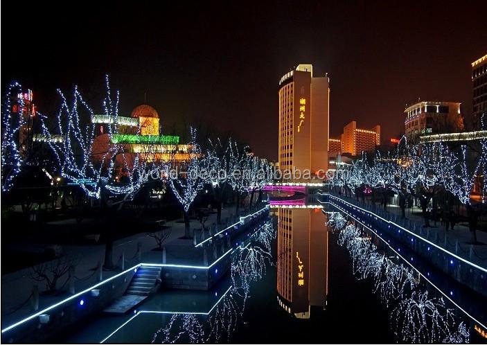 Illuminazione Esterna Natale : Luci di natale proiettore decorazione di natale per strada natale