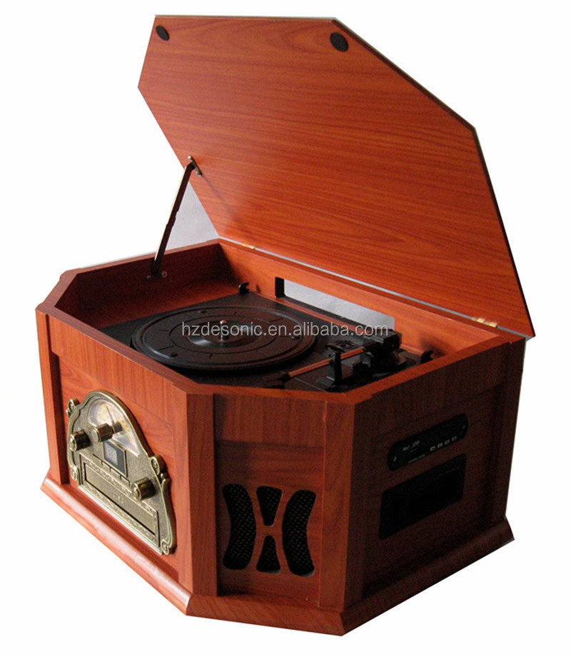 Best cd vinyl record player jukebox with cassette